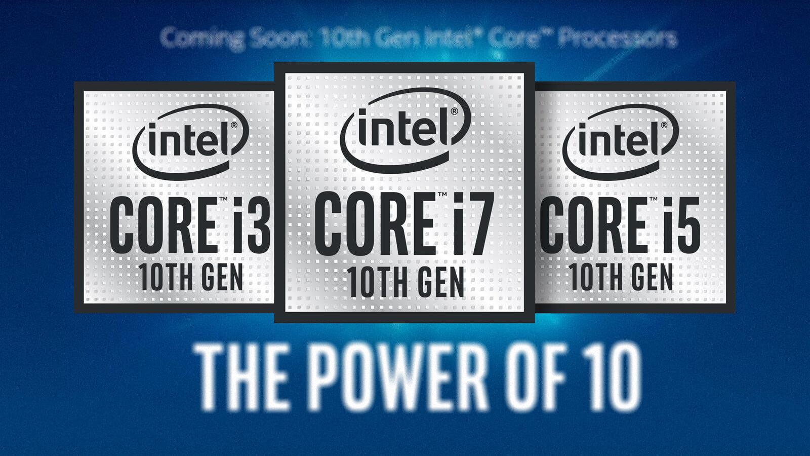 مشخصات پردازندههای دسکتاپ نسل ۱۰ اینتل منتشر شد