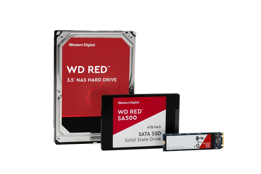 هارد دیسک ۱۴ ترابایتی RED و اس اس دی های جدید وسترن دیجیتال برای NAS معرفی شدند