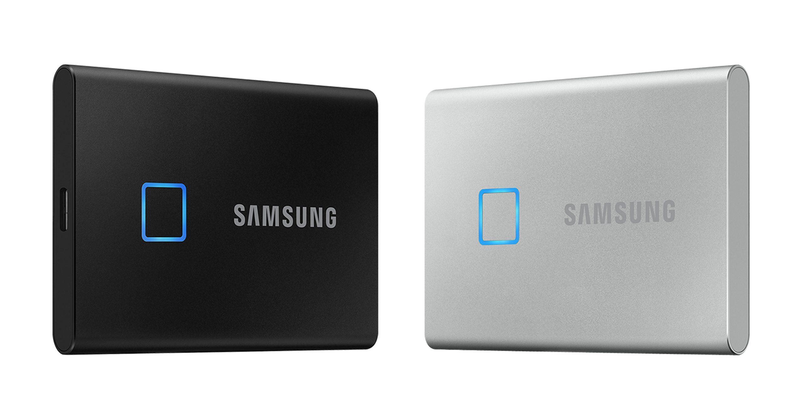 SSD اکسترنال جدید سامسونگ مجهز به سنسور اثر انگشت است