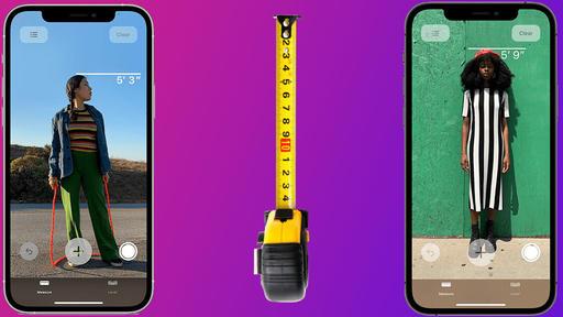 دوربین آیفون ۱۲ پرو و پرو مکس قد افراد را نمایش می دهد