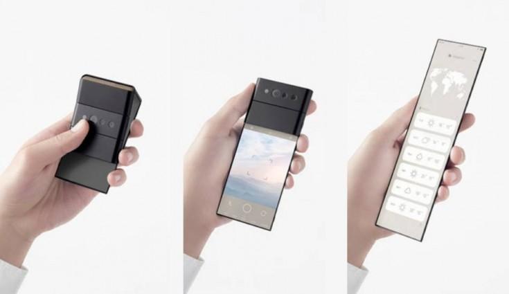 اوپو یک گوشی تاشو مفهومی معرفی کرده که سه بار تا میشود!